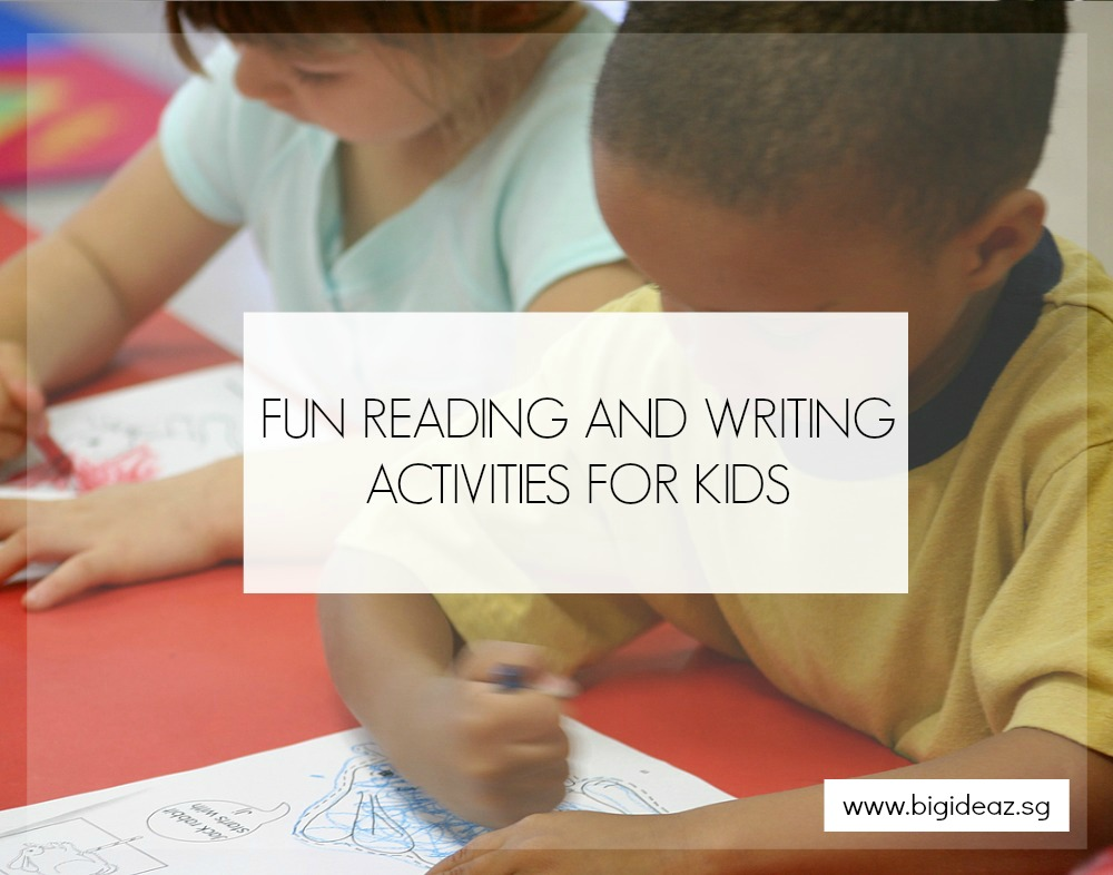 Reading writing activities