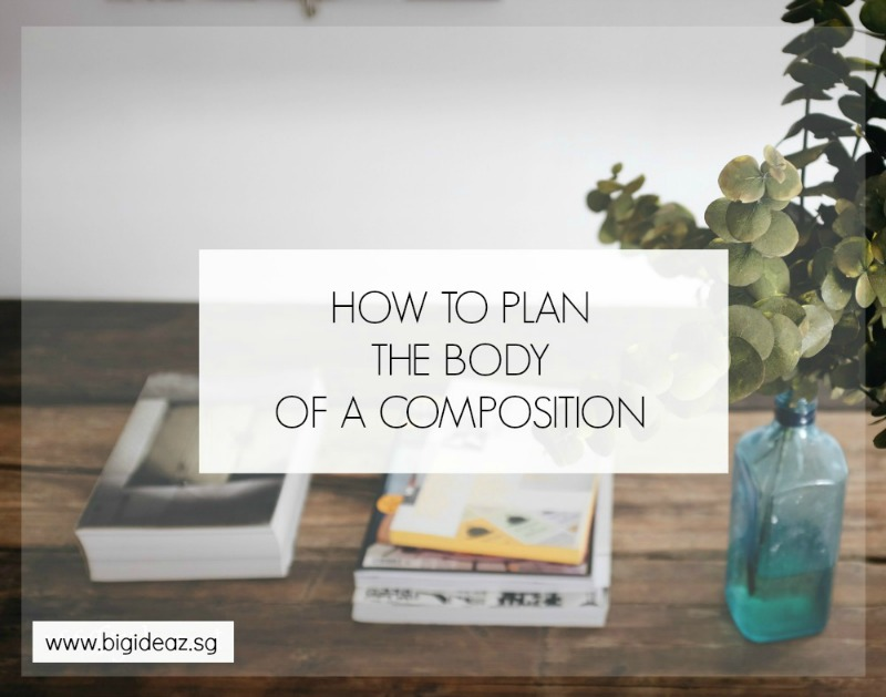 how to write English compositions
