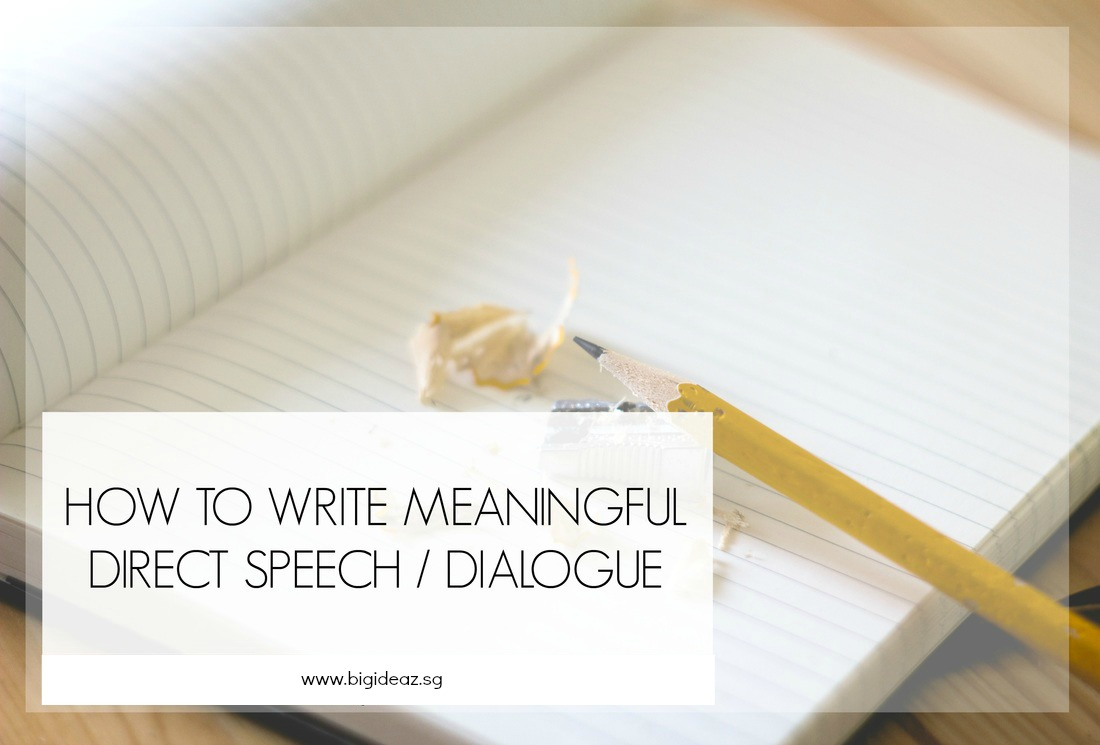 direct speech in compositions