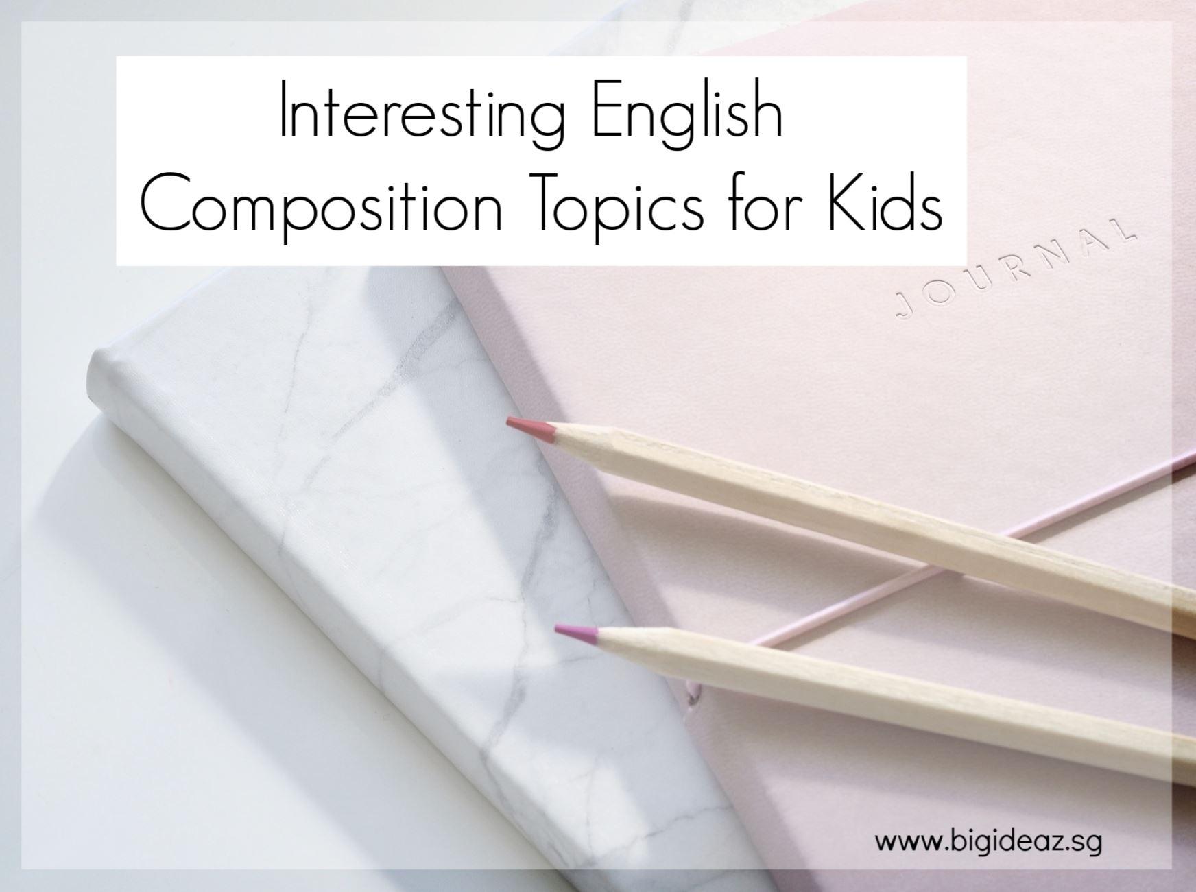 English composition topics