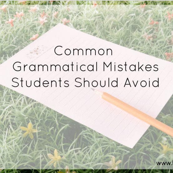 common grammatical mistakes students should avoid