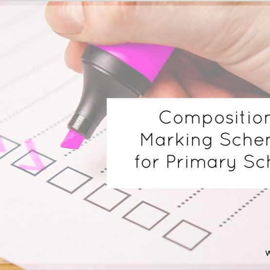 composition marking for primary school