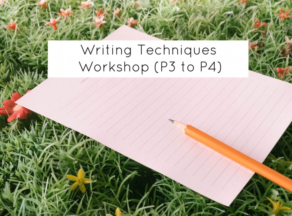 writing techniques school holiday workshop